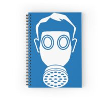 Gas Mask Icon Spiral Notebook