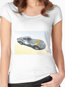 Ferrari 250 Women's Fitted Scoop T-Shirt