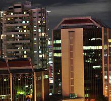 Brisbane After Dark by Geoff Beck