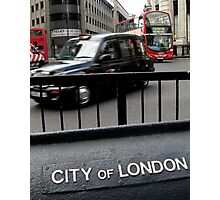London Transport (UK) Photographic Print