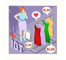 Wearable Fashion Iot Brand Art Print