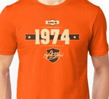 Born in 1974 (Cream&Choco) Unisex T-Shirt