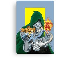 The Fantastic Four in the hands of Doom! Canvas Print