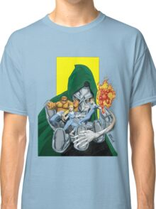 The Fantastic Four in the hands of Doom! Classic T-Shirt