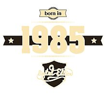 Born in 1985 (Cream&Choco) Photographic Print