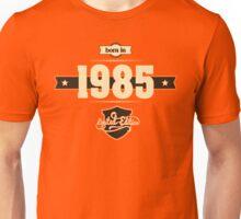 Born in 1985 (Cream&Choco) Unisex T-Shirt