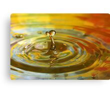 Droplet #10 Canvas Print