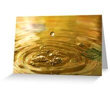 Droplet #15 Greeting Card