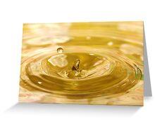 Droplet #17 Greeting Card