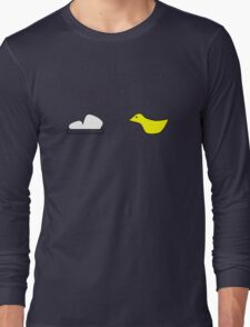 Rugrats cartoon throwback geek funny nerd Long Sleeve T-Shirt