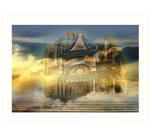 Castle magic Art Print