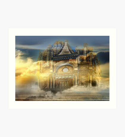 Castle magic Art Print