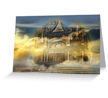 Castle magic Greeting Card