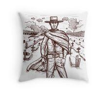 The Berwick Kid Throw Pillow