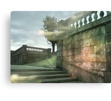 Mysterious course Canvas Print