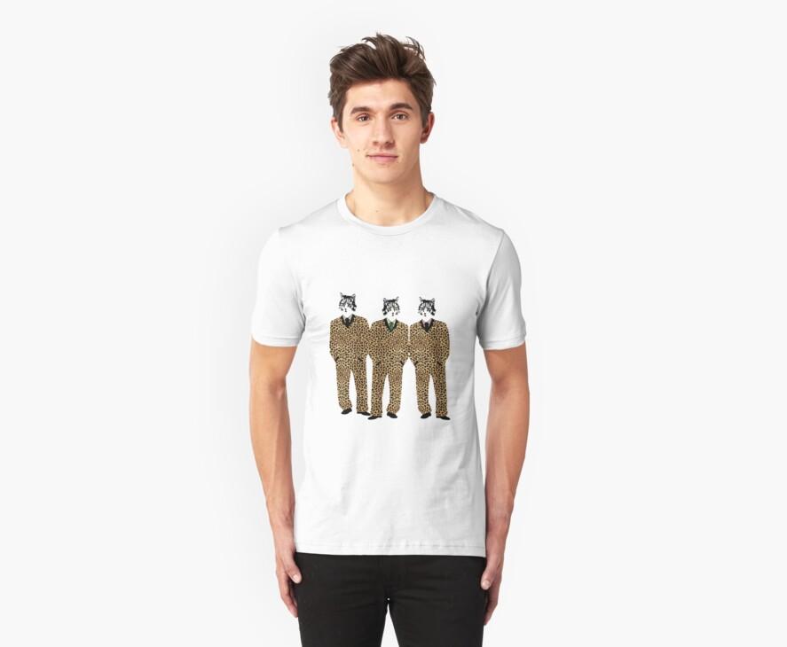 Jaguar Cats T-Shirt by simpsonvisuals