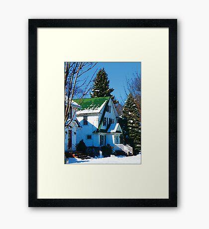 White House in Show Framed Print