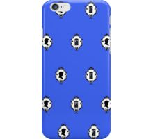 Dr who silhouette iPhone Case/Skin