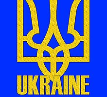 Coat of Arms of Ukraine  by rara25