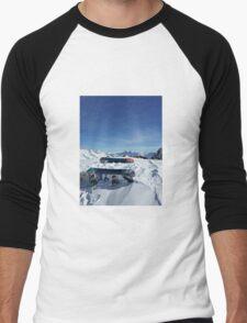 Snowboarding Men's Baseball ¾ T-Shirt