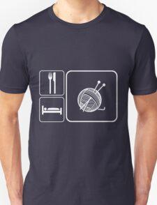 Eat Sleep Knitting T-Shirt