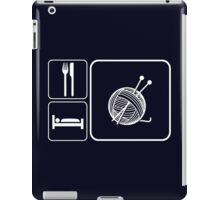 Eat Sleep Knitting iPad Case/Skin