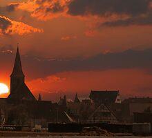 Nuernberg Sunset  by newfan