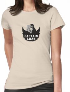 Once Upon a Time - Captain Swan Womens Fitted T-Shirt