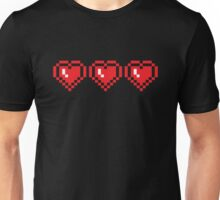 I HEART PIXELS PATTERN T-Shirt