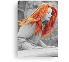 Karen With Hair Like Fire Canvas Print