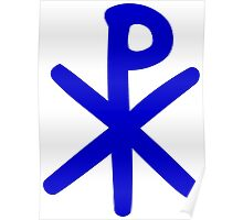 Chi Ro Symbol Poster