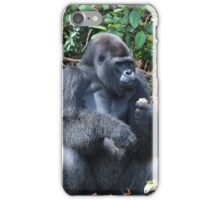 Djala The Silverback Gorilla #6 iPhone Case/Skin