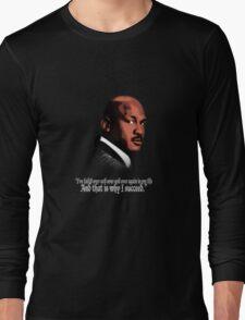 Michael Jordan Vector and Quote Long Sleeve T-Shirt