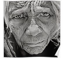 Old Lady.Kathmandu,Nepal 2005 Poster