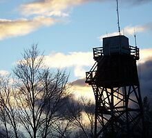 Lookout Tower by © Betty E Duncan ~ Blue Mountain Blessings Photography