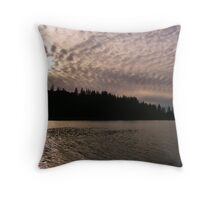 Christian Valley Sunset Throw Pillow