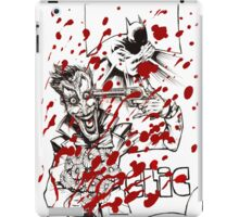 Clic, the Joker the funny bullet iPad Case/Skin