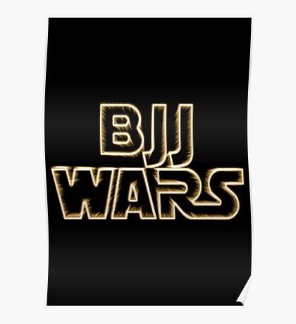 Brazilian Jiu Jitsu Wars Poster