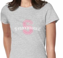 Storybrooke - Purple Womens Fitted T-Shirt