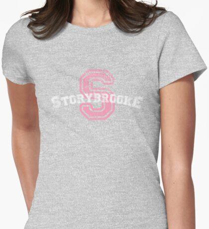 Storybrooke - Purple Womens Fitted T-Shirt
