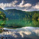 Green Lagoon, Azores by Filipe Goucha