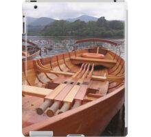 Row Boat iPad Case/Skin