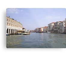 Venice waterway Metal Print