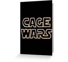 Cage Wars Greeting Card