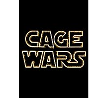 Cage Wars Photographic Print