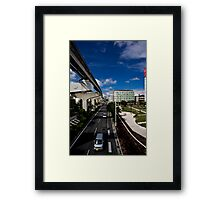 Okinawa Japan City View Framed Print