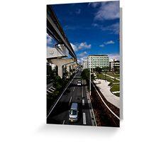 Okinawa Japan City View Greeting Card