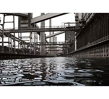 A River Runs Through - Essen, Germany Photographic Print