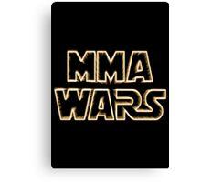 Mma Wars Canvas Print
