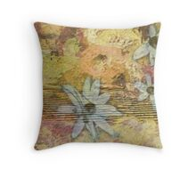 Figment of Flowers (After) Throw Pillow